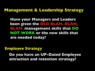 Management skills for millennials
